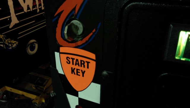 Take a key for coming in.