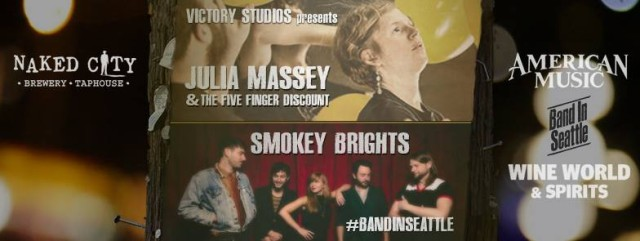 """JM+FFD live televesion taping for """"Band in Seattle!"""""""